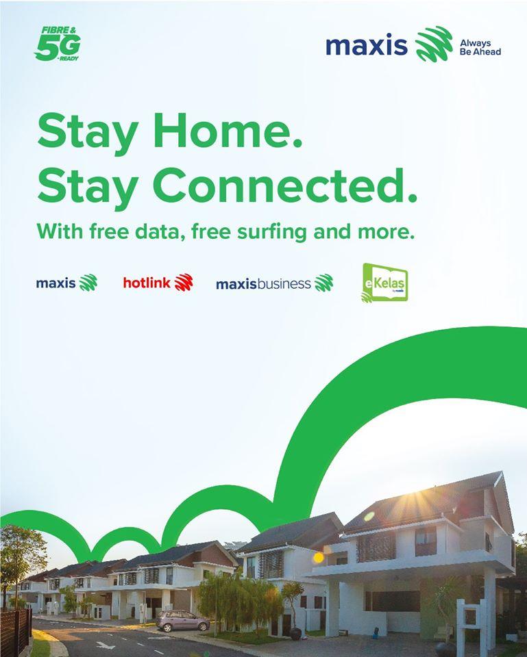 Maxis  free data